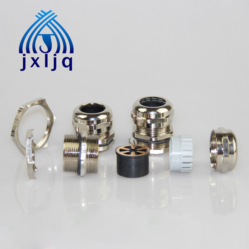 EMC Brass Cable Gland - D Series Metric Thread