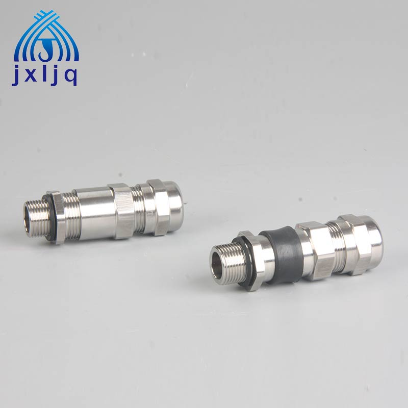 Double Sealed EX Stainless Steel Cable Gland