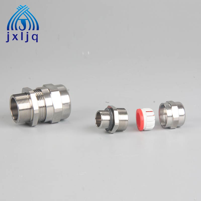 Single Sealed EX Stainless Steel Cable Gland JX8 Series