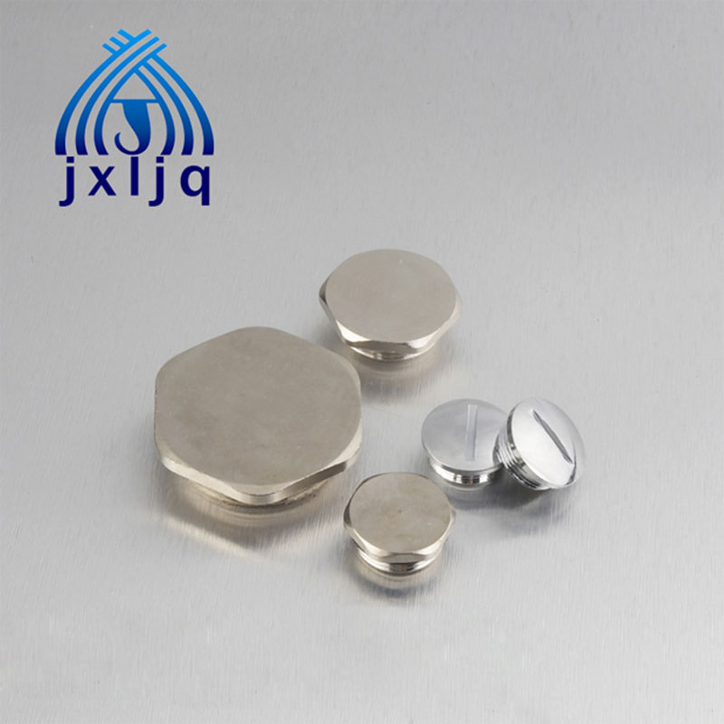 Hexagonal Brass Screw Cap